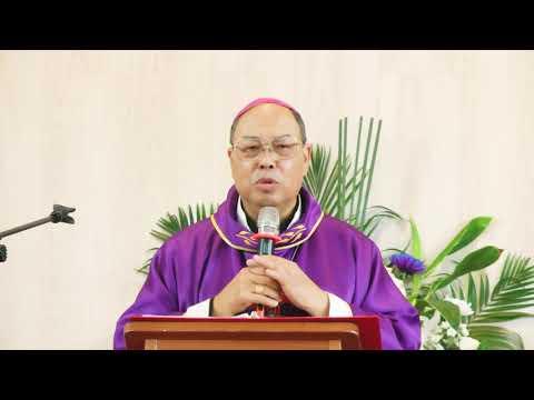 黃兆明主教於母親殯葬彌撒談生命的真福